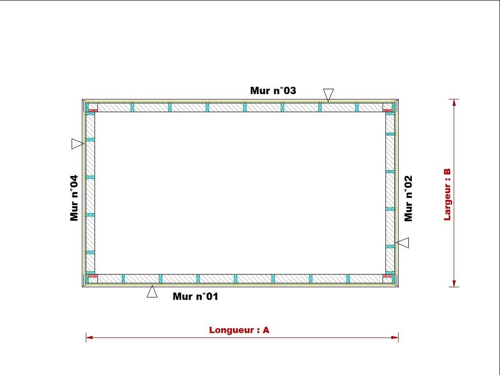 Extension ossature bois en kit